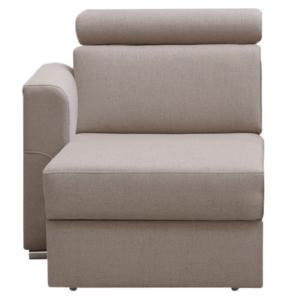 Produkt 1-sed 1 1B L na objednávku k luxusnej sedacej súprave, béžová, ľavý, MARIETA