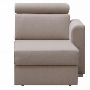 Produkt 1-sed 1 1B P na objednávku k luxusnej sedacej súprave, béžová, pravý, MARIETA
