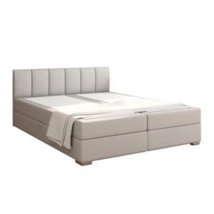 Produkt Boxpringová posteľ 180×200, svetlosivá, RIANA KOMFORT