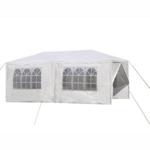 Produkt Záhradný párty stan, biela, 3×6 m, TEKNO TYP 2 + 6 bočných strán