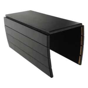 Produkt Odkladacia plocha/podložka na podrúčku sedačky, bambus, čierna, ALTE