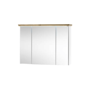 Produkt Skrinka so zrkadlom, biela/dub artisan, TOSKANA