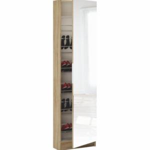 Produkt Botník, dub sonoma/zrkadlo, KAPATER 304997