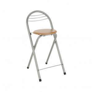 Produkt Barová stolička, buk/chróm, BOXER