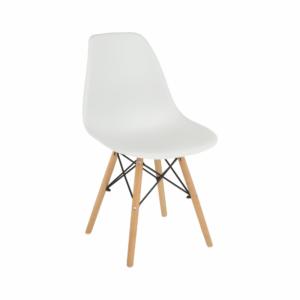 Produkt Stolička, biela/buk, CINKLA 3 NEW