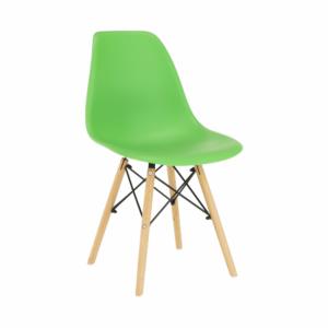 Produkt Stolička, zelená/buk, CINKLA 3 NEW