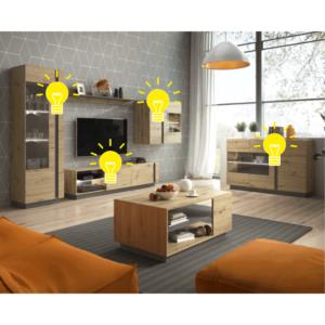 Produkt 2-bodové LED osvetlenie, CITY