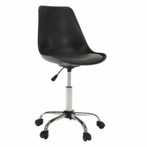 Produkt Kancelárska stolička, čierna/tmavosivá, DARISA