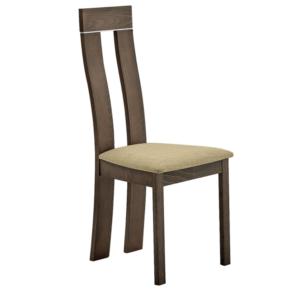 Produkt Drevená stolička, buk merlot/hnedá látka, DESI