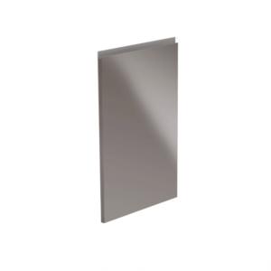 Produkt Dvierka na umývačku riadu, biela/sivá extra vysoký lesk HG, 59, 6×571, 3, AURORA