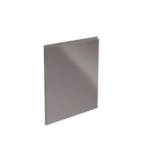 Produkt Dvierka na umývačku riadu, biela/sivá extra vysoký lesk HG, 44, 6×57, AURORA