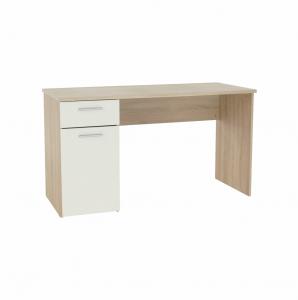 Produkt Písací stôl, dub sonoma/biely, EGON