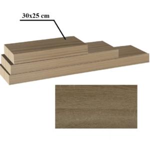 Produkt Polica, dub trufel, 30×25, GANA FY 11044 120