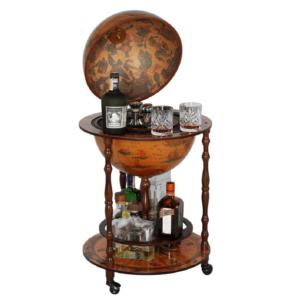 Produkt Barový servírovací stolík, čerešňa, GLOBUS 2-324