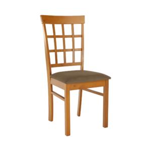 Produkt Stolička, čerešňa/béžovohnedá, GRID NEW