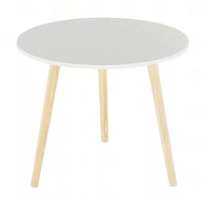 Produkt Príručný stolík, sivá/nohy prírodná, HANSON