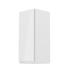 Produkt Horná skrinka, biela/biely extra vysoký lesk, ľavá, AURORA G30