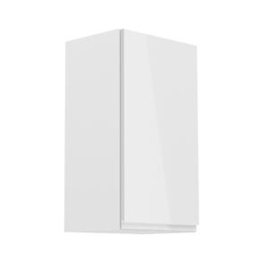 Produkt Horná skrinka, biela/biely extra vysoký lesk, pravá, AURORA G40
