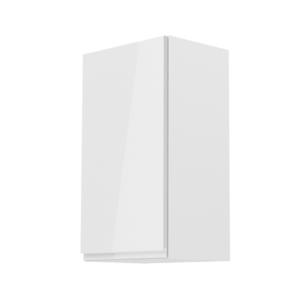 Produkt Horná skrinka, biela/biely extra vysoký lesk, ľavá, AURORA G40