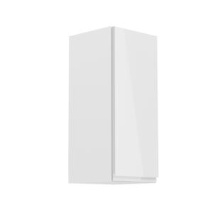 Produkt Horná skrinka, biela/biely extra vysoký lesk, pravá, AURORA G30