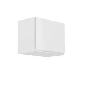 Produkt Horná skrinka, biela/biely extra vysoký lesk, AURORA G50K
