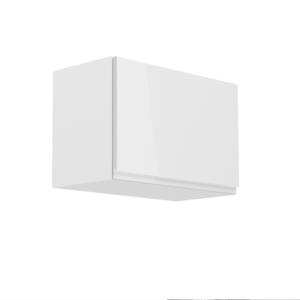 Produkt Horná skrinka, biela/biely extra vysoký lesk, AURORA G60K