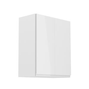 Produkt Horná skrinka, biela/biely extra vysoký lesk, AURORA G602F