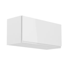 Produkt Horná skrinka, biela/biely extra vysoký lesk, AURORA G80K