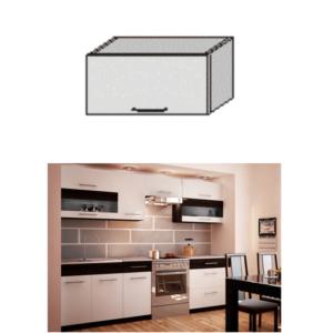Produkt Horná skrinka, biela/wenge, JURA NEW B OG-60
