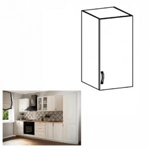 Produkt Horná skrinka G30, pravá, biela/sosna Andersen, SICILIA
