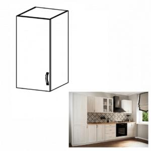 Produkt Horná skrinka G40, ľavá, biela/sosna Andersen, SICILIA
