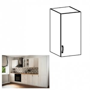 Produkt Horná skrinka G40, pravá, biela/sosna Andersen, SICILIA