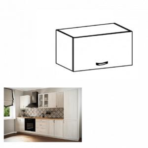 Produkt Horná skrinka G50K, biela/sosna Andersen, SICILIA