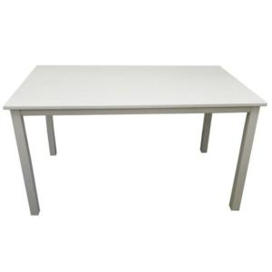 Produkt Jedálenský stôl, biela, 110 cm, ASTRO NEW