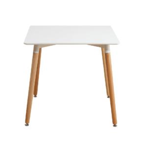 Produkt Jedálenský stôl, biela/buk, DIDIER  3 NEW
