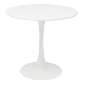 Produkt Jedálenský stôl, okrúhly, biela matná, REVENTON