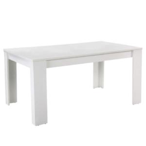 Produkt Jedálenský stôl, biela, 160, TOMY NEW