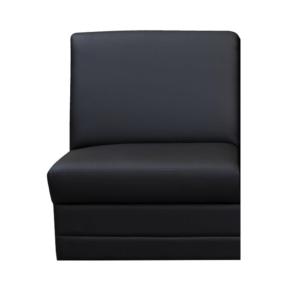 Produkt Celočalúnený jednosed, ekokoža čierna, BITER 1 BB na objednávku