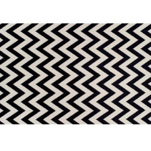 Produkt Koberec, slonovinová/tmavosivá, 67×120, ADISA