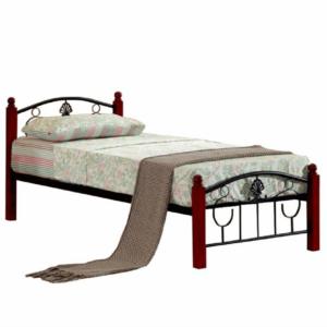 Produkt Kovová posteľ s roštom, 90×200, MAGENTA