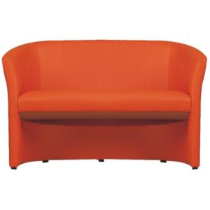 Produkt Klubové dvojkreslo, ekokoža oranžová, CUBA