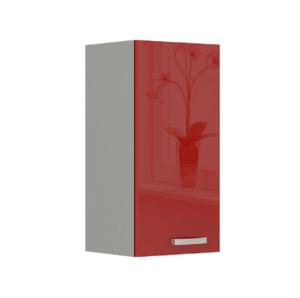 Produkt Skrinka horná, červený vysoký lesk, PRADO 40 G-72 1F