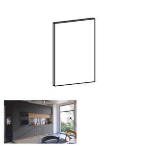 Produkt Dvierka na umývačku riadu, sivý mat, 59, 6×57 cm, LANGEN