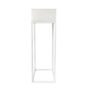 Produkt Multifunkčný kovový kvetináč, biela, INDIZE TYP 1 WL4211