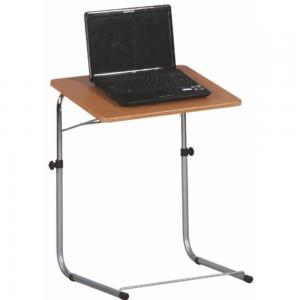 Produkt Stolík na notebook, buk, strieborná, LYON