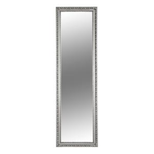 Produkt Zrkadlo, drevený rám striebornej farby, MALKIA TYP 5