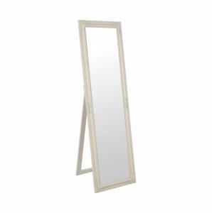 Produkt Zrkadlo, drevený rám smotanovej farby, MALKIA TYP 12