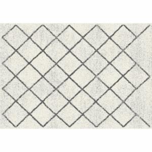 Produkt Koberec, béžová/vzor, 67×120, MATES TYP 2
