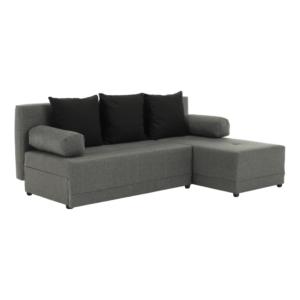 Produkt Rohová sedacia súprava, sivá/čierna, pravá, MEXX NEW
