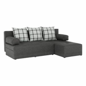 Produkt Rohová sedacia súprava, sivý melír/vzor, pravá, MEXX NEW